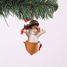 charming tails nutty for mouse ornament