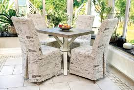 pleasurable white dining room chair covers all dining room
