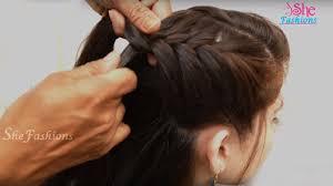 3 easy hairstyles for long hair ladies hair style videos 2017