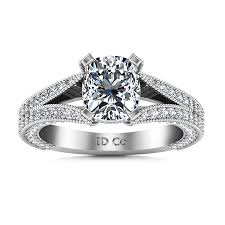 white engagement rings images Pave cushion cut engagement ring zahra 14k white gold imagine png