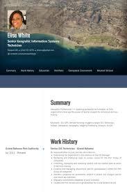 gis technician resume samples visualcv resume samples database