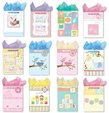 baby shower gift bags gift bags for baby shower 12 medium gift bags set of