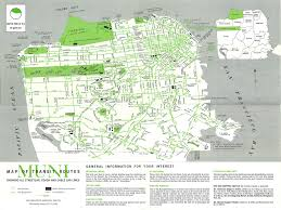 San Francisco Transportation Map by San Francisco Muni Map Of Transit Routes Showing All Stree U2026 Flickr