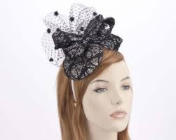 lace fascinator white lace fascinator for melbourne cup races