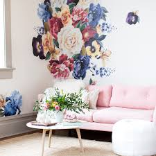wallpaper wall decals project nursery vintage floral wall decals
