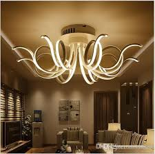 Acrylic Ceiling Light 2018 Modern Minimalist Led Ceiling Light Acrylic Chandeliers For