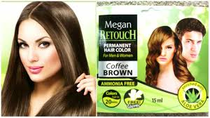 megan retouch hair color for men and women review u0026 demo coffee