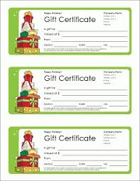 christmas gift voucher template word 2003 sitetemplate net