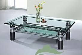 Glass Side Tables For Living Room by Coffee Tables Dazzling Glass Coffee Table Dining Table Chairs