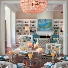 Contemporary Modern Retro Light Dining Room Photos - Retro dining room