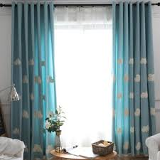 Patterned Curtains And Drapes Pink And White Color Block Print Poly Cotton Blend Bedroom Drapes