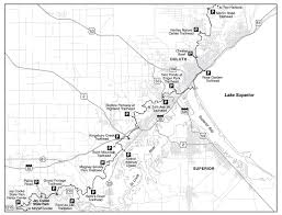 White Castle Locations Map Trail Section Mn Wi Border To Duluth Hike The Sht