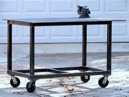 diy welding table plans not just idea more welding bench plans