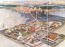 Map Of Seattle Center by Bibliodyssey Century 21 Exposition