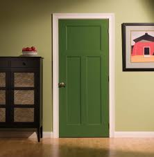 delectable green styles of interior doors design with white lines