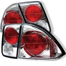 2001 honda civic tail lights honda civic sedan 2001 2003 clear altezza tail lights a103njx9110