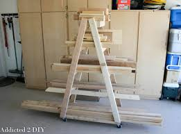 Diy Firewood Rack Plans by Easy Portable Lumber Rack Free Diy Plans Rogue Engineer