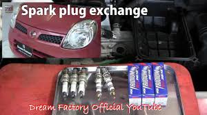 spark plug exchange nissan moco dream factory official youtube