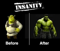 Insanity Workout Meme - something beats nothing every time