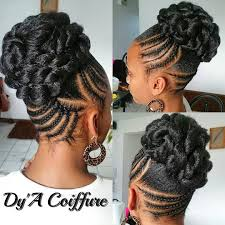 cornrow hairstyles for black women with part in the middle birthday style god s willing natural hair updos pinterest