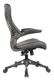 White Ergonomic Office Chair by Amazon Com Office Factor Executive Ergonomic Office Chair Back