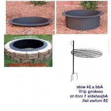 Rumblestone Fire Pit Insert by Delightful Fire Pit Grate Ebay 24 Inch Square Fire Pit Insert With