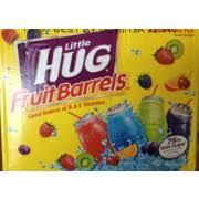 huggie drinks hug fruit barrels 75 less sugar calories nutrition