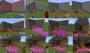 Minecraft How To Make A Bed Minecraft Tutorial How To Make A Bedroom By Princesszelda224 On