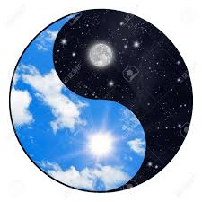 yin yang symbol sun and moon stock photo picture and royalty free