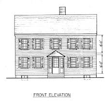 House Plans New England 28 Saltbox House Plans Saltbox Style Historical House Plan