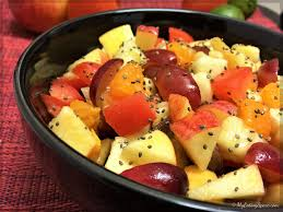 Bowl Of Fruits Healthy Tomato Fresh Fruit Salad Bowl My Eating Space