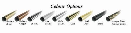 Antique Brass Curtain Rods Curtain Rods U0026 Poles Buy Online Alex U0027s Curtains U0026 Blinds