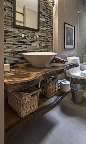 Rustic Bath Vanities Bathroom Rustic Bathroom Vanities Brown Design Trends Neutral