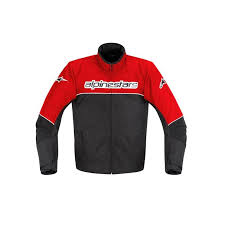waterproof motorcycle jacket alpinestars ast 1 waterproof motorcycle jacket red black white