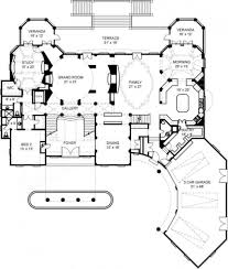 villa cornaro mansion house plan luxury house plans