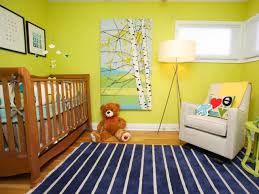 Rugs For Baby Rooms Baby Nursery With Lime Green Walls And Stripes Rugs Choosing