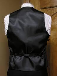 apple red vest men u0027s satin vest with adjustable back spencer j u0027s