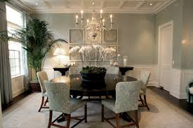 blue painted dining table decoration ideas amusing dining room decoration using greyish blue