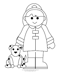 fireman fire fighter printable coloring pages unique firefighter