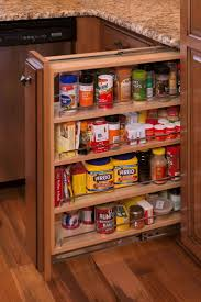 Lowes Racks Kitchen Pots And Pans Drawer Pull Out Spice Rack Storage