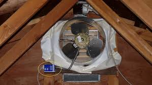 gable attic fan installation ot whole house fans mtbr com