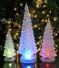 amazon com led lighted acrylic christmas trees holiday decoration