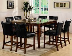 Bar Dining Sets Dining Rooms - Bar height dining table with 8 chairs