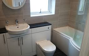 Furniture Bathroom Suites P Shape Shower Bath Suite With Fitted Furniture Bathroom Designs
