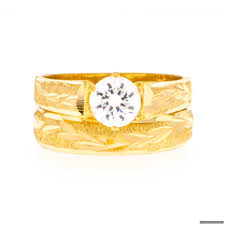 indian wedding ring 22ct indian gold wedding ring set 434 51 rings indian