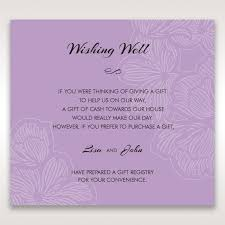 wedding registry on invitation wishing well poems for wedding invitations allabouttabletops