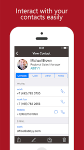 Business Cards App For Iphone Business Card Scan App For Iphone Infocard Co