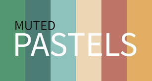 current color trends muted pastels design shack
