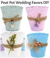 Flower Pot Wedding Favors - diy wedding favor ideas get tons of ideas to make your own