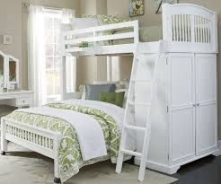 White Wooden Bunk Bed White Wood Double Bunk Bed Home Design Idea Solid Wood Bunk Beds